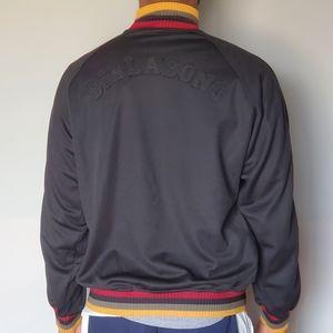 Billabong Spellout Black Streetwear Men's Jacket